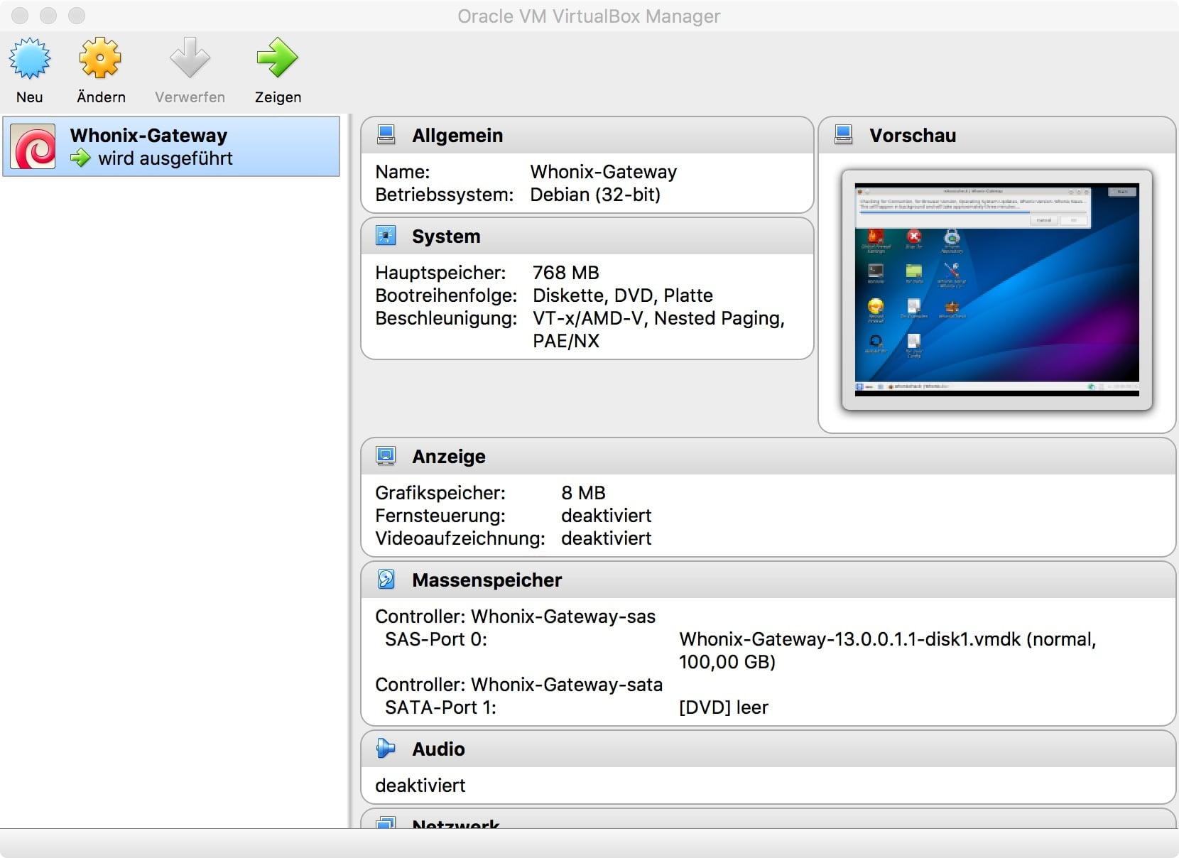 Anonym surfen: Whonix und VirtualBox machen es möglich!