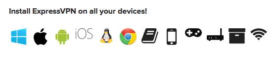 ExpressVPN ist dein VPN Anbieter für jedes Gerät!
