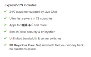 Top Features, hohe Sicherheit: ExpressVPN!