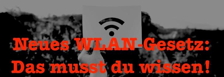 Mit dem neuen WLAN-Gesetz könnte sich etwas interessantes ändern!