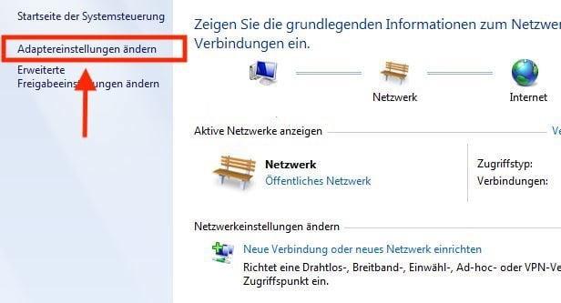 startseite für internet ändern