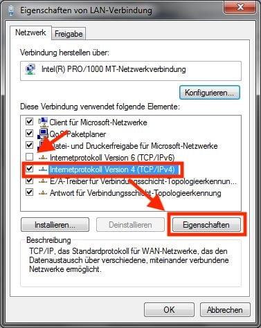 Erste Einstellungen, um Windows mit Whonix verbinden zu können