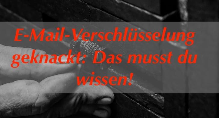 Die wichtigsten Information nachdem an der FH Münster die E-Mail Verschlüsselung geknackt wurde