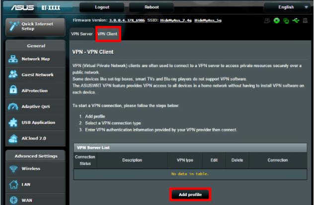 VPN Router einrichten: Öffne zunächst das Admin Panel deines Routers!