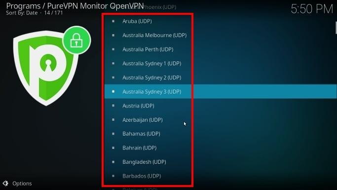 PureVPN bietet hunderte Server für dein Kodi VPN!