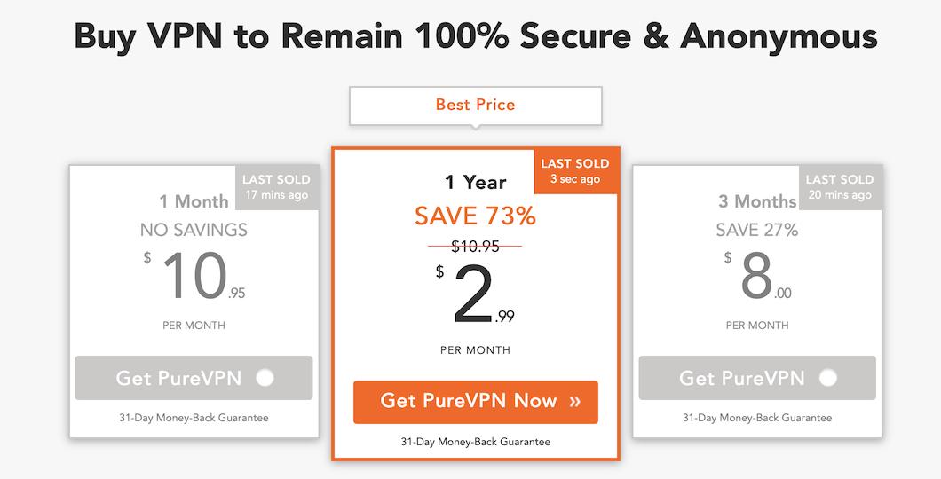 Hier klicken und günstige VPN Preise bei PureVPN sichern!