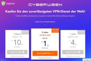 Günstiges VPN von PureVPN - hier klicken und 88 % Rabatt sichern!