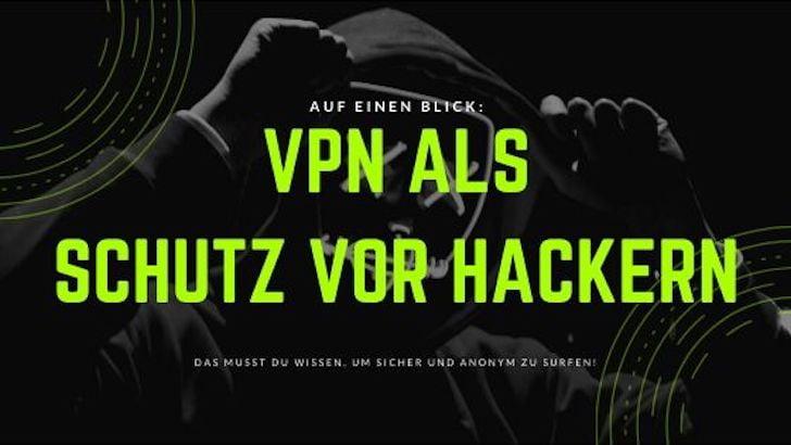 VPN als Schutz vor Hackern: das musst du wissen!